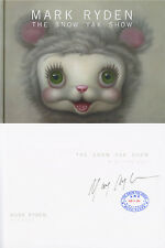 Mark Ryden SIGNED The Snow Yak Show HC 1st + FULL LETTER PSA/DNA AUTOGRAPHED