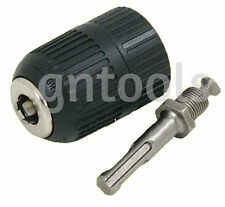"KEYLESS DRILL CHUCK & SDS ADAPTER REPLACEMENT CORDED & CORDLESS 13MM 1/2"" 20 UNF"