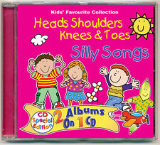 Heads Shoulders Knees & Toes & Silly Songs *NEW & wrapped* LATEST COVER ARTWORK