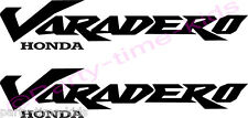 Honda Varadero XL125 XL1000 Vinyl Decal Bike Sticker Motorcycle choice of colour