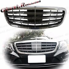 For 2014~On BENZ W222 S550 S600 Sedan Tune To Maybach S65 Look Front Vent Grille
