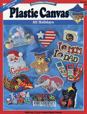All Holidays ~ 23 Quick & Easy Projects plastic canvas patterns
