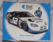 RYAN NEWMAN ALLTEL RACING #12 DODGE CHARGER 8.5x11 Photo Card