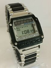 Seiko Solar Battery Sports 100  ref.A557-506A Quartz LCD LED  Collectible Watch