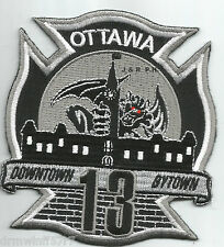 "Ottawa  Station-13, Ontario, Canada  ""Downtown Bytown""  fire patch"