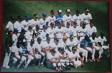 Harold Baines Chicago White Sox Signed 8 x 12 1987 All Star A.L. Team Photo