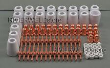 PT31 LG-40 Plasma Electrode Tip Nozzle Extended Plasma Cutter Consumables 100pcs