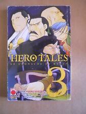 Manga Universe presenta HERO TALES 3 n°92 2010 Planet Manga  [G412]