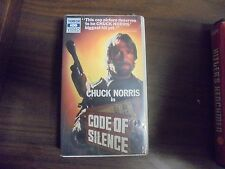 "USED VHS Movie  ""Code Of Silence"""