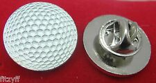 Golf Ball Lapel Hat Cap Tie Pin Badge Golfer Golfers Gift Souvenir Brooch