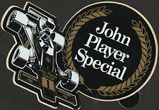 JOHN PLAYER SPECIAL JPS LOTUS 72 1974 RONNIE PETERSON ORIGINAL PERIOD F1 STICKER