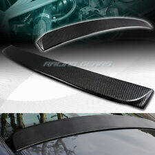 REAL CARBON FIBER REAR ROOF WINDOW VISOR SPOILER WING FIT 06-15 HONDA CIVIC 4-DR