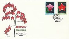 (48023) GB Jersey FDC Christmas Orchids - 15 November 1984