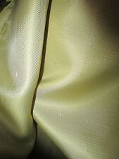 "Silky Soft Golden Viscose Blend Italian Suit Lining Fabric. 60"" Wide,"