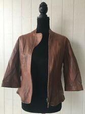 NWT EMU NATURALLY AUSTRALIAN SOFT  NAPPA  LEATHER JACKET.