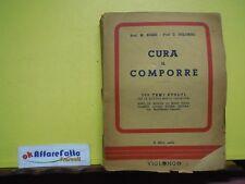 L 4.217 LIBRO CURA IL COMPORRE DI M ROSSI E C COLOMBO 1953