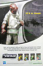Admiral Ackbar - It's a Trap - Star Wars Hasbro: Great Original Photo Print Ad