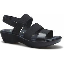 NEW Dansko Diandra Black Strap Slingback Platform Sandal, Size 42 (11.5-12) $135