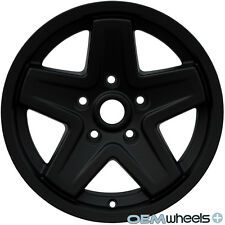 "NEW 16"" BLACK CLASSIC OFFROAD STYLE WHEELS FITS JEEP WRANGLER JK 2007-2014 RIMS"