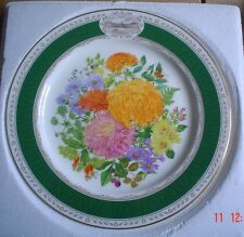 Royal Grafton THE 1989 CHELSEA FLOWER SHOW PLATE Collectors Plate Boxed