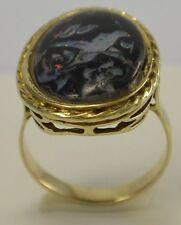 Antiker Damen - Ring    333er 8 Karat Rotgold