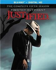 Justified: The Complete Fifth Season (Blu-ray Disc, 2014, 3-Disc Set,...