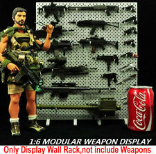 "1/6 scale display stand cz toys arme fusil modèle mur (pas gun) fit 12"" figure"