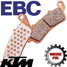 KTM EXC 200 (Upside down forks) 09-13 UPRATED EBC Rear Disc Brake Pads FA368R
