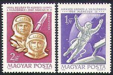 Hungary 1965 Space Flight/Voskhod/Astronauts/Rocket/Transport 2v set (n34687)