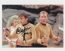 WALTER KOENIG Signed 10x8 Photo STAR TREK ORIGINAL Cast COA