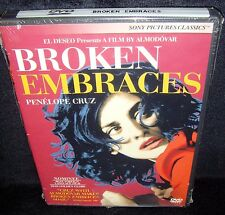 Broken Embraces (DVD, 2010) Brand New Factory Sealed!•Real USA Made!