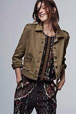 New Anthropologie Cropped Military Jacket Sz XS Size X-Small NIP by Hei Hei