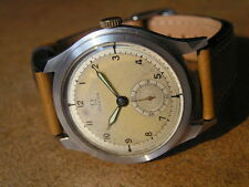 Oversize Fine OMEGA Project WristWatch Cal.26.5 (1937) Orig. Dial, S/S Case 40mm