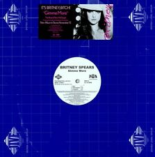 """Britney Spears Gimme More 10 mixes US Double Dj 12"""" WLP"""
