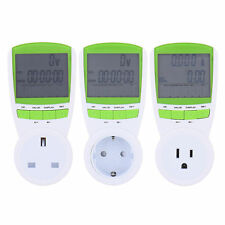 New Plug-in Energy Power Meter Voltage Measuring Outlet Plug Switch Socket
