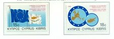 DRAPEAU & EMBLEME - FLAG & EMBLEM CYPRUS 1988 EEC - Cyprus Customs Agreement