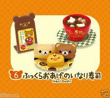 NEW Re-ment Miniature Dollhouse San-x Rilakkuma Sushi Restaurant rement #06
