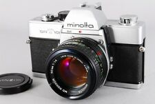 【EXC+++】Minolta SRT 101 35mm SLR Body w/ MD ROKKOR 50mm F1.4 from Japan #108N