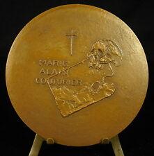 Médaille Art sacré Père dominicain Marie Alain Couturier Artiste skull  Medal