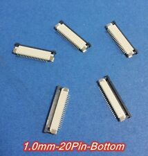 FFC/FPC Connector 20Pin Pitch 1.0mm Bottom Contact Pick Drawing Socket