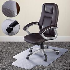 "36"" x 48"" PVC Home Office Chair Floor Mat Studded Back with Lip for Pile Carpet"