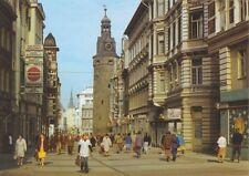 AK, Halle Saale, Klement-Gottwald-Straße, belebt, 1986