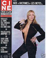 Couverture magazine,Coverage Ciné Revue 17/02/77 Gloria Guida