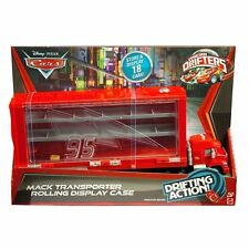 DISNEY PIXAR CARS MICRO DIFTERS MACK TRANSPORTER ROLLING DISPLAY CASE  *NEW*