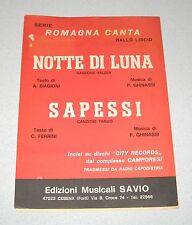 Spartiti SERIE ROMAGNA CANTA Complesso Camporesi Liscio orchestra Fisarmonica