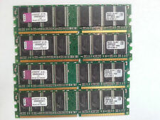 Kingston KVR400X64C3A/1G 4GB (4x1gb)  DIMM 400 MHz DDR  PC3200 MVC