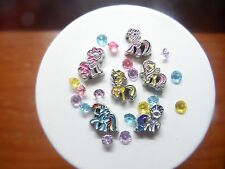 CuTe **My LiTTle PoNY** Floating Charm Living Memory Locket 6 PoNIES 22p CARTOON