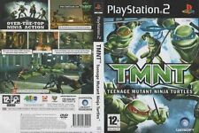 TMNT Teenage Mutant Ninja Turtles PS2 PlayStation 2 PAL USED GOOD CONDITION