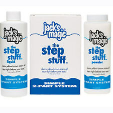 Jack's Magic Step Stuff JMSTEPSTUFF Swimming Pool Chemical Stain Remover Kit