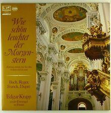 """12"""" LP - Johann Sebastian Bach - Wie schön leuchter der Morgenstern - A4176"""